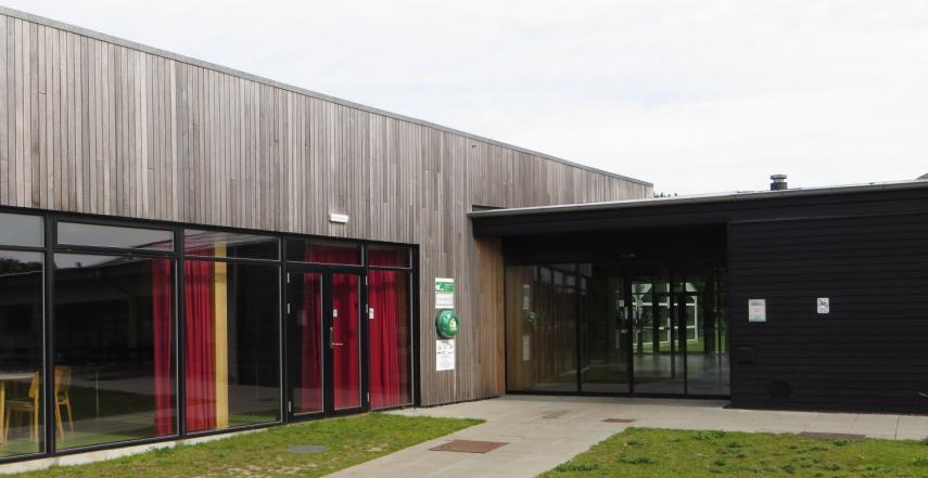 Samsø Bibliotek indgang